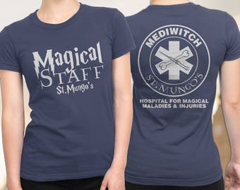 Harry Potter Doctor, FREE SHIPPING, Nurse Harry Potter Shirt, St Mungo's Hospital for Magical Maladies and Injuries, Harry Potter T-Shirt
