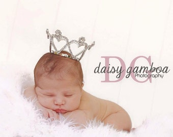 Baby Crown  Newborn or Maternity Photo Shoot or Caker Topper Baby Girl