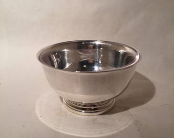 Gorham Silver Bowl with Glass Insert