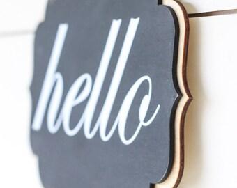 Interchangeable Chalkboards for Front Door Wreaths and Indoor Display - Change with the Seasons & Celebration