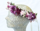 Custom Matching Adult & Child Flower Headpieces