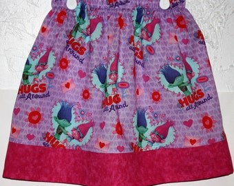 Troll Hugs Skirt Size 2 to 8