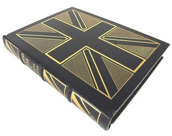 Vintage Leather Book // Lord Jim by Joseph Conrad // Easton Press // 1987 // Leather Bound Book