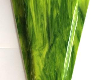 Large Fused Glass Wall Vase