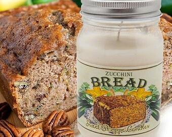 16 ounce Zucchini Bread Jar Candle