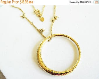 CLEARANCE SALE Gold Necklace Modern Lia Sophia