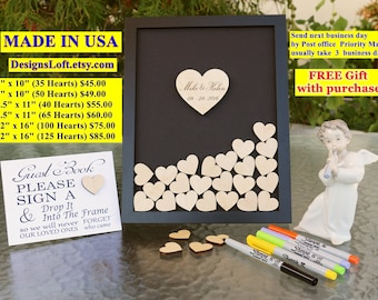Alternative Guest Book - Wedding Guest Book - Guest Book Drop Box - Guest Book Alternative - Wedding Drop Box
