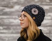 Women's Crochet Hats - Women's Winter Hat - Women's Hats - Hand Crocheted Hat Women - Crochet Hat Woman