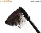 DISCONTINUED Travel Size Vegan Black Handmade Mascara, On the Go Purse Size, Natural, Paraben-free, Cruelty-Free, No Animal By-Product
