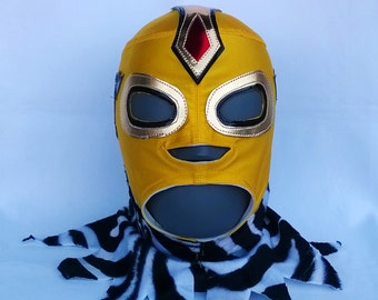 Konnan Wrestling Mask Mardi Gras day of the dead halloween party masks Horror movie masquerade mask Barbarian Mask Conan