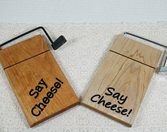 Cheese Slicer and Cheese Board Wedding Gift, Personalized Cutter,New Home Owner Gift, Cheese Cutter,Carved Cheese Board,custom cheese cutter