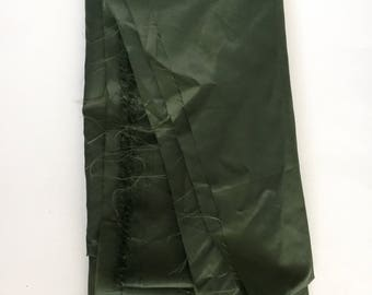 Olive Green Nylon Parachute Fashion Fabric