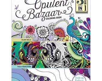 Adult Coloring Book - Opulent Bazaar Coloring Book (532141)