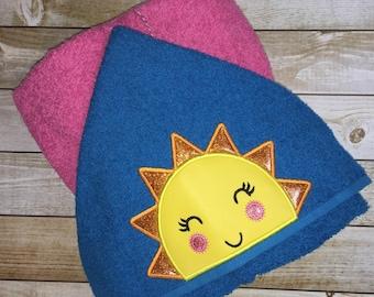 "Sunshine Girl Hooded Bath Towel 27"" x 52"""