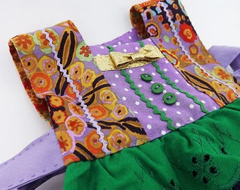 Kitchen Hand Towel, Oven Door Towel Dress, Bridal Shower Gift, Wedding Gift, Hand Stitched Handmade Kitchen Decor, Housewarming, Hostess