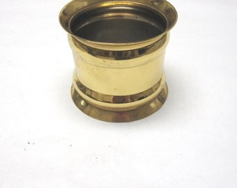 Small Brass Planter Golden Pot