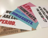 Equal Rights Postcards