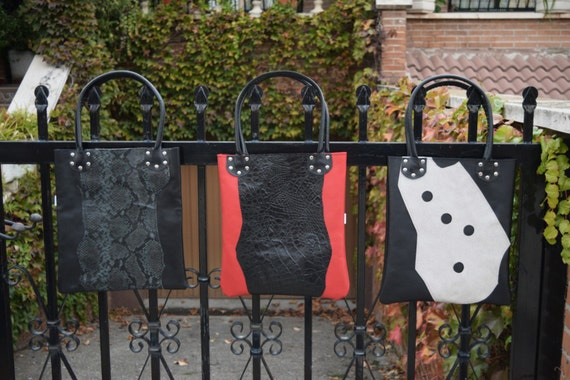 Leather tote,red tote bag,alligator tote,black,red leather tote,leather purse bag,black totes,black leather bags,leather totes,red totes