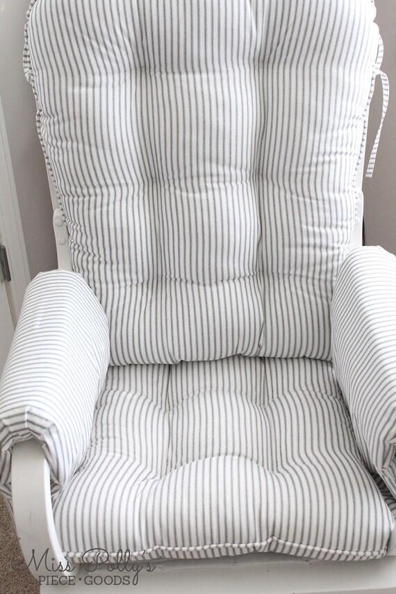 Custom Chair Cushions/ Glider Cushions/ Rocking Chair Cushions/ Glider ...