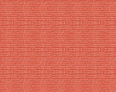 Fabric by the Yard-- Mermaid Days- Seeds in Coral by Cori Dantini for Blend Fabrics