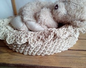 Customer order for Lauren Hand Knitted Basket Cotton Rope Natural and rug