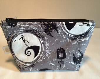 Jack Skellington Zipper Bag