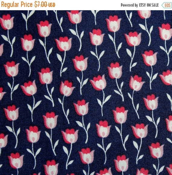 Tulip fabric,Flower fabric,Reflections by Donna Wilder,100% cotton fabric,Quilt fabric,Apparel fabric,Craft fabric,BTY