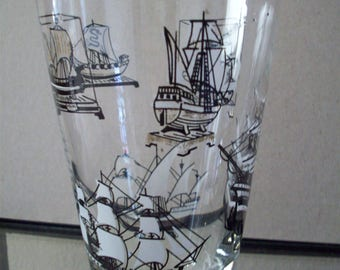 Ahoy There... Ship Glass