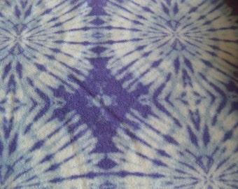 Tie-Dye! Fleece Blanket