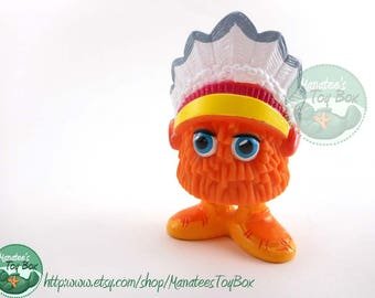 Vintage McDonalds 1980s Toy Funny Fry Friends Lil' Chief U3