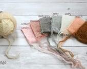 SALE- Newborn hat, Newborn knitted hat, Newborn bonnet, newborn photography prop, newborn prop bonnet