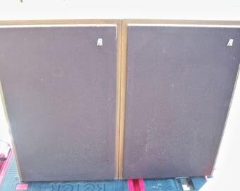 Vintage Pair of AR 8BX 2 Way Bookshelf Speakers