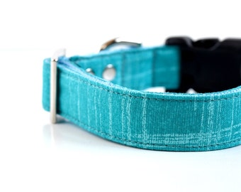 Ocean Dog Collar - Turquoise blue