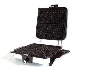 sharp half pint microwave oven. toastmaster waffle iron 259a sandwich grill chrome nonstick used sharp half pint microwave oven