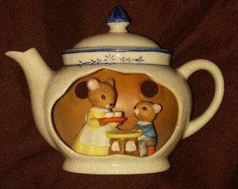 Teapot Mouse Etsy