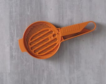 Vintage Orange Tupperware Sifter