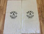 2 Bemis A Extra Heavy Seamless sacks. 1115161