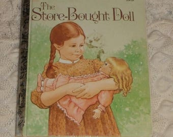 Vintage A Little Golden Book The Store Bought Doll by Lois Meyer