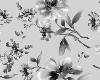 Gradiance - Floral Gray from Maywood Studio