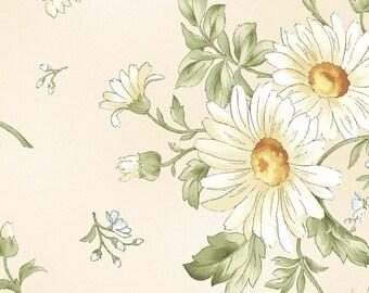 Gentle Breeze - Daisies Cream by Jan Douglas from Maywood Studio