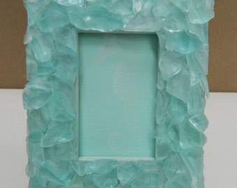 Beach Glass Mini Frame
