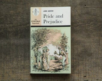 1960s vintage paperback Pride and Prejudice by Jane Austen