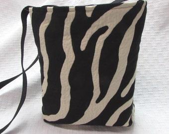 shoulder bag purse one of a kind zebra bag