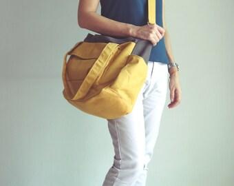 New Lianny, On SALE - 2tones mustard,  Diaper bag, Messenger Bag, Women, Diaper Bag for Girls, For Boy, Gift for Her, Baby Bag 30%