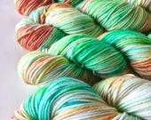 Sour Gummy Worm - Vintage DK: 100% Superwash Merino, DK Weight - Regular March Yarn Club - Dyed to Order