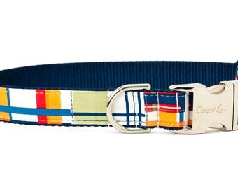 Crew LaLa™ Multi Madras Dog Collar