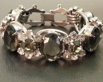 Juliana DE DeLizza Elster Smokey Grey Five Link Bracelet