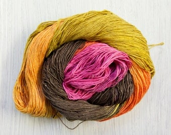 Silk Lace Weight Thread in Autumn Glory