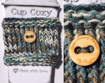 Earthy Coffee Cup Cozy