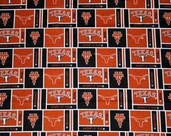 University of Texas Longhorn Fabric